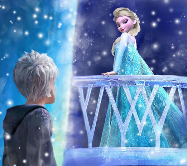 Elsa et Jack Frost rencontres jeux chansons sur la datation de quelqu'un de plus jeune que vous