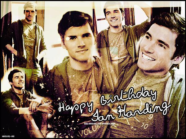 . ▬ C'est en ce 16 septembre 2012, que Ian fête ses 26 ans. On dit quoi alors ? :D Poste ton message, il sera posté sur cet article. .