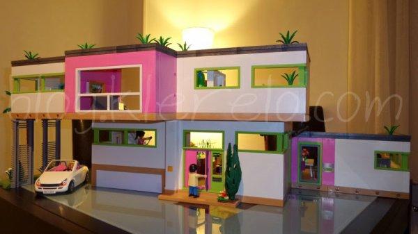 La maison  playmobil