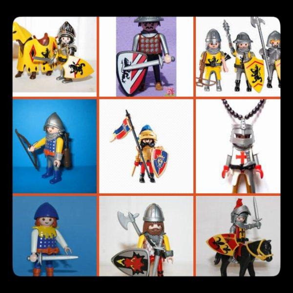 Plusieurs Soldat Playmobil