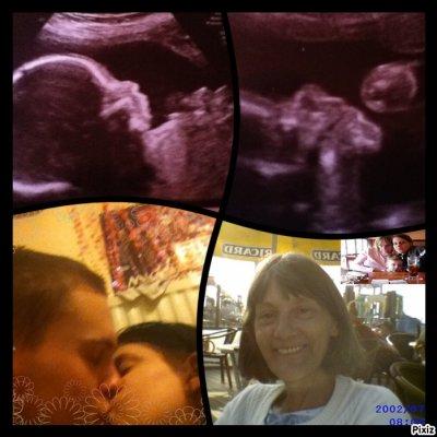mon homme et moi et trystan et maman :)