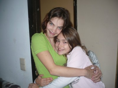 ma soeur aurelie et ma cousine eden