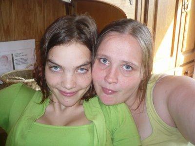 ma soeur et notre cousine leati