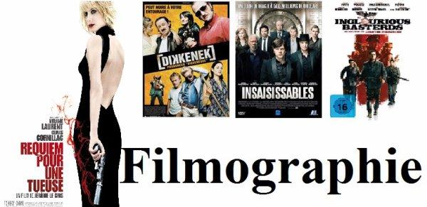 Filmographie