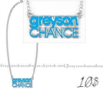 . 25.08.2011 . Samedi M6 a rediffusé le reportage consacré a Greyson Chance ,vous pouvez le visionné Ici (5eme chapitre*).  ICI vous pouvez acheter des objets Greyson Chance (site officiel américain*)