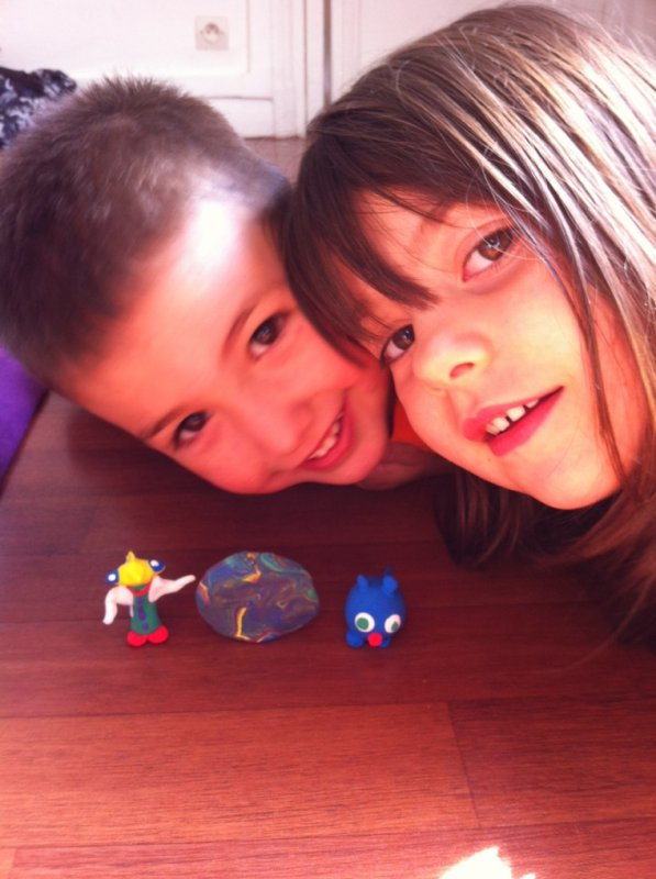 Mes deux petits anges