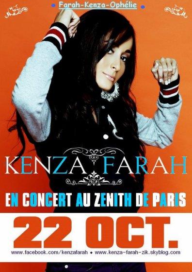 ~~   Kenza Farah le 22 Octobre au Zénith de Paris   ~~