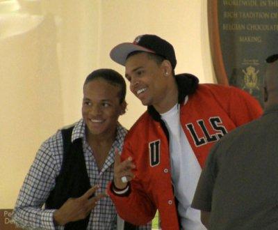 TI fille datant Chris Brown fille que j'aime est datant d'un Jerk