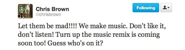 ***Collaboration Chris Brown / Rihanna ? ***