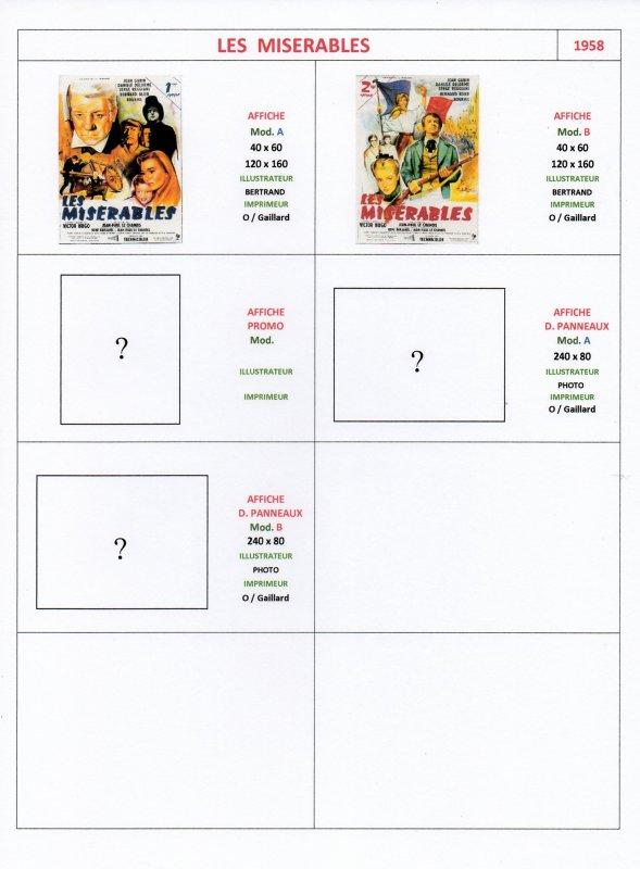 Les Affiches de Cinéma (3)