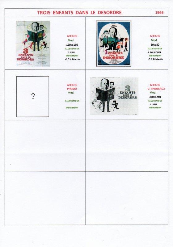 Les Affiches de Cinéma (6)