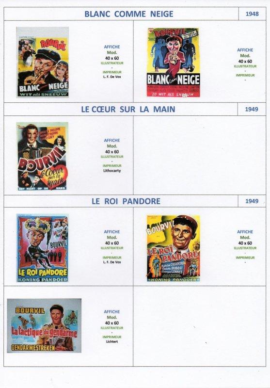 Les Affiches de Cinéma Belge (1)