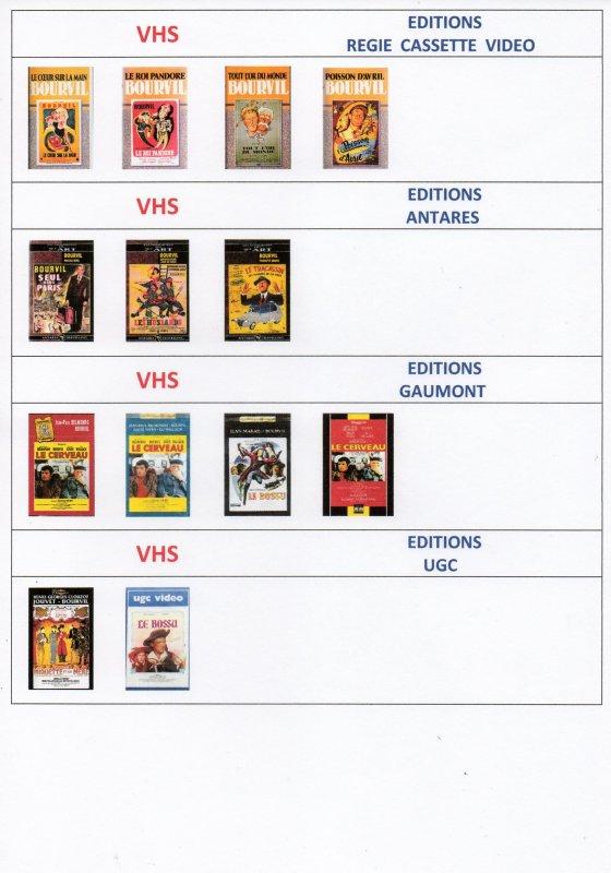 Les VHS