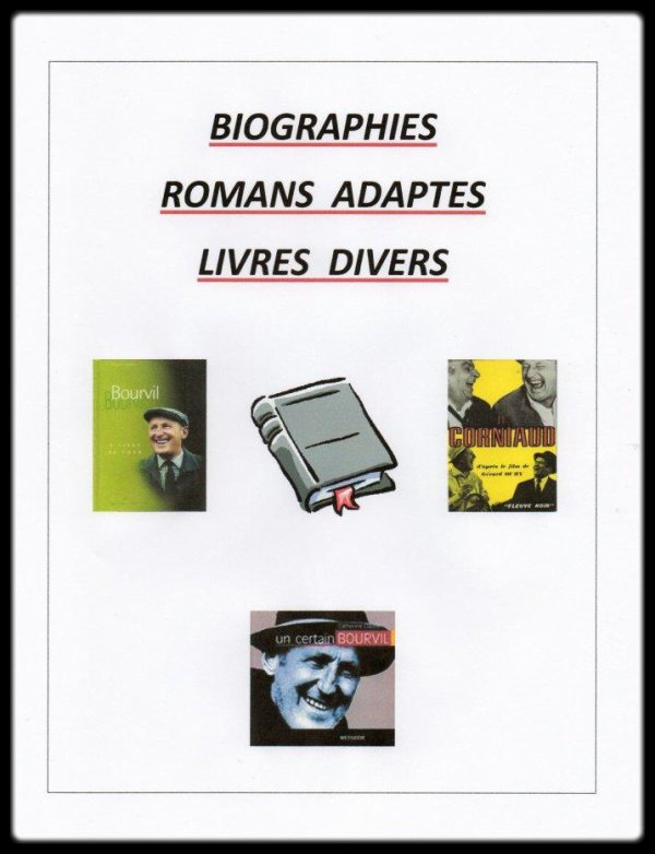 Les Biographies & Romans Exploités