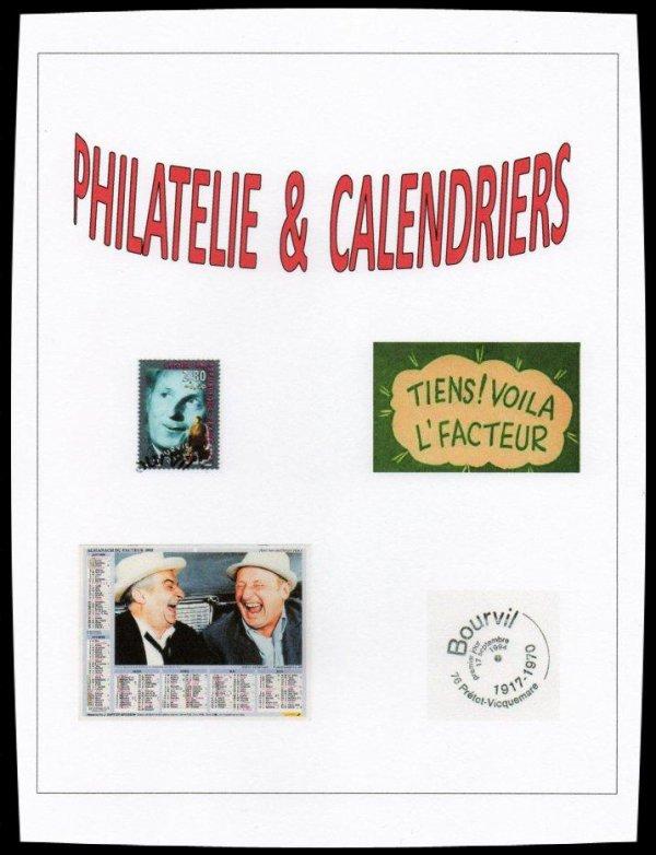 Philatélie & Calendriers