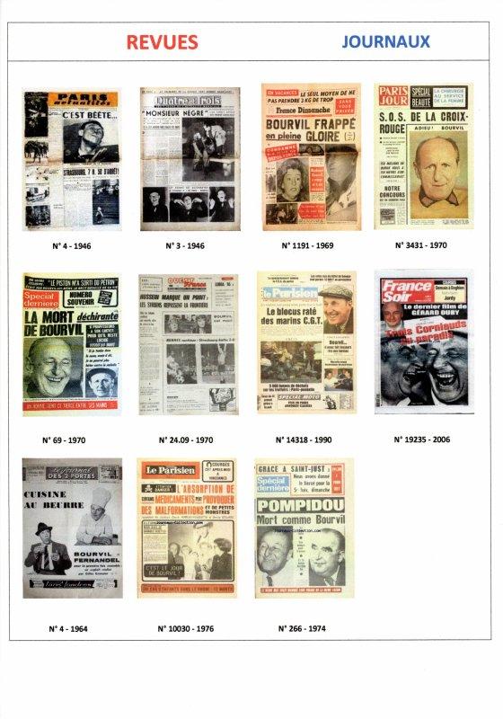 Les Revues de Presse , Journaux , Romans photos (2)  ....