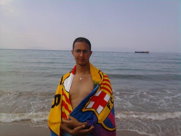 barcawi f la plage