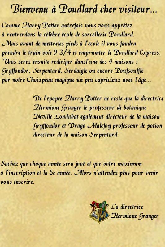 La lettre d'Hermione