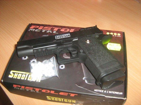 mon nouveau gun