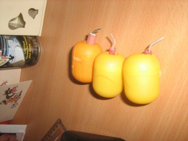 les grenades que g crée