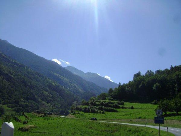 Le valais (Suisse)