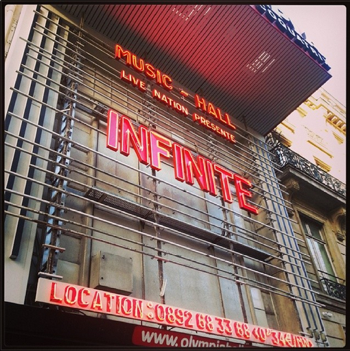 Concert INFINITE à Paris - Part One