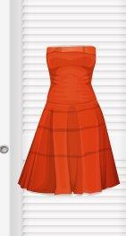 Robe orange trop belle !