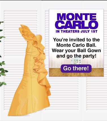 Robe Monte Carlo + affiche.