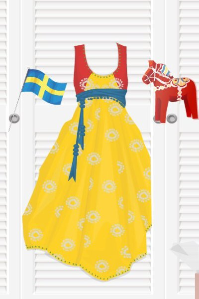 Panoplie  Suédoise.
