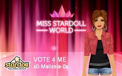Miss Stardoll World Promo !