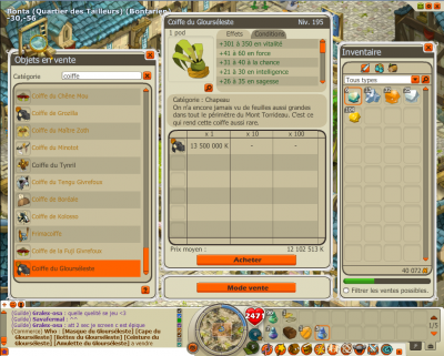 dofus en mode bug party !!!