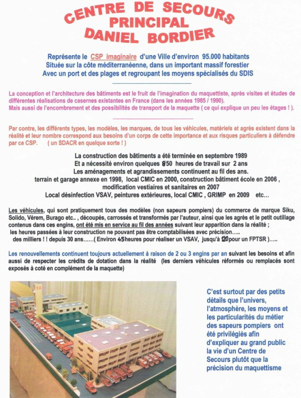 EXPLICATIONS ET CAHIER DES CHARGES DE CETTE REALISATION
