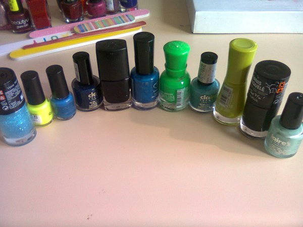 Ma grande collection de vernis !