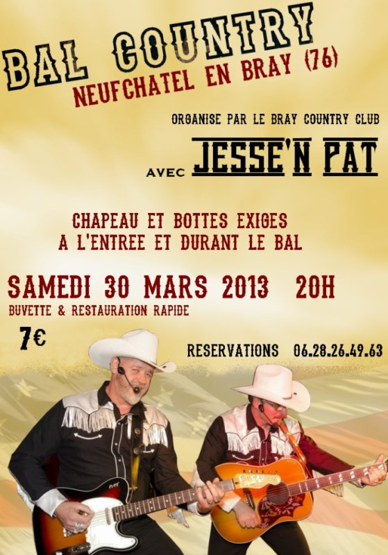 le bal du Bray Country Club