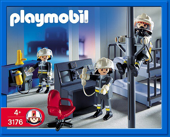 27 caserne pompier materiel 3176 salle d 39 intervention photo archive article playmobil. Black Bedroom Furniture Sets. Home Design Ideas