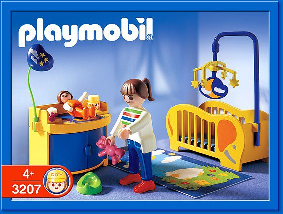 9a maison moderne interieur 3207 maman chambre de b b for Playmobil chambre bebe