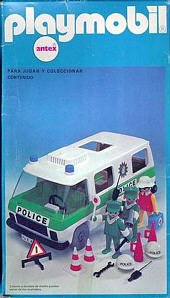 25a police allemande v hicules 3253 camion police photo archive article playmobil - Playmobil camion police ...
