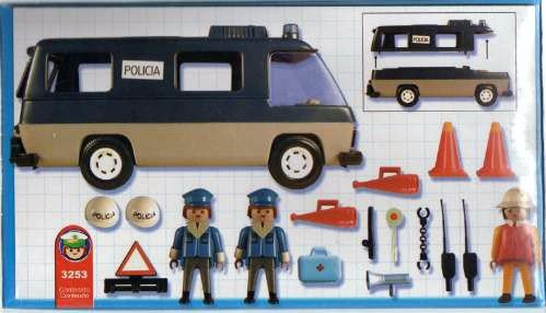 3253 camion police version argentine photo archive article playmobil - Playmobil camion police ...