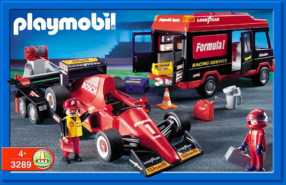 16d circuit auto kart moto 3289 set formule 1 photo archive article playmobil. Black Bedroom Furniture Sets. Home Design Ideas