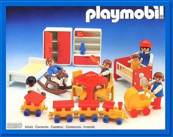 9a maison moderne interieur 3290 chambre d enfants photo archive article playmobil