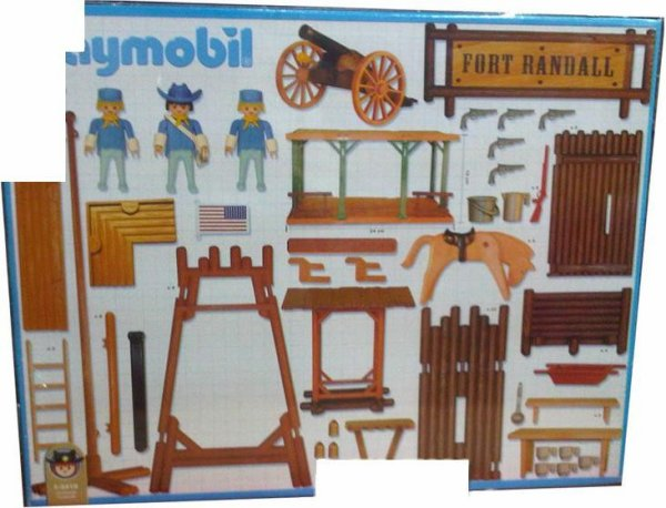 07D FORT 3419 Fort randall | Jouets d'enfance, Play mobile