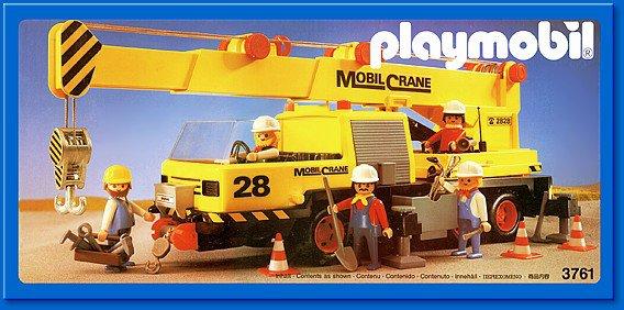 19 chantier construction 3761 camion grue photo archive - Playmobil camion chantier ...