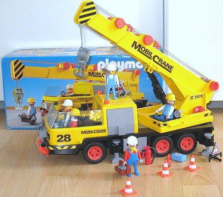Playmobil camion grue de chantier - Playmobil camion ...