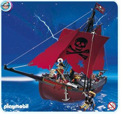 06 navire barque 3900 vaisseau corsaire photo archive - Bateau corsaire playmobil ...