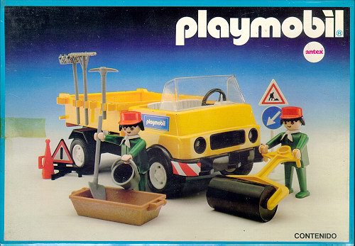 Camion de travaux bouin offre ses clients son savoirfaire - Camion toupie playmobil ...