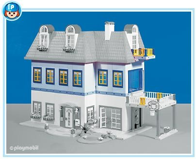 9 Maison Moderne 3965 Maison Moderne 7336 7337 7338 7422 7423 Photo Archive Article Playmobil