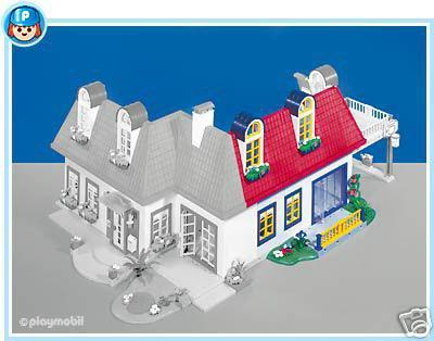 Plan Maison Moderne Playmobil 3965