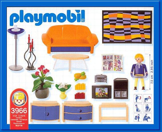 ... 9A MAISON MODERNE INTERIEUR 3966 Salon Moderne. Tags : Playmobil 3966