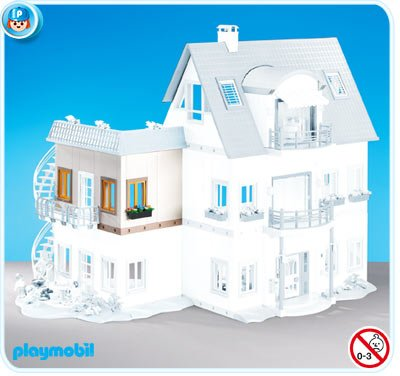 9 maison moderne 4279 villa moderne 7387 7388 7389 7390 7391 - Playmobil Maison Moderne 4279