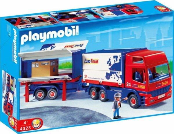 19C PORT DE COMMERCE & INDUSTRIEL 4323 Routier avec camion et remorque
